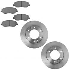 Semi-Metallic Brake Pad & Rotor Kit FRONT