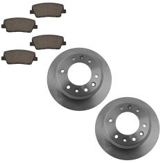 Ceramic Brake Pad & Rotor Kit FRONT