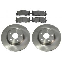 Semi-Metallic Brake Pad & Rotor Kit FRONT (AX900340 & AXMD1293)