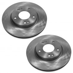 FRONT Disc Brake Rotor PAIR (AUTO EXTRA AX900442)
