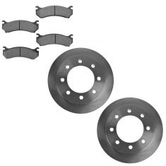 REAR Ceramic Disc Brake Pad & Rotor Kit (AX55055 & AXCD785)