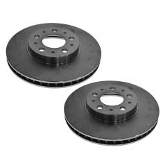 94-00 Volvo 280 mm Multifit Front Brake Rotor PAIR