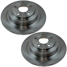 Rear Brake Rotor PAIR (AUTO EXTRA AX31273)