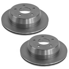 Rear Brake Rotor (AUTO EXTRA AX55049) PAIR