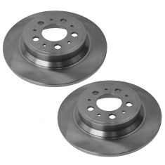 2001-09 Volvo S60; 99-06 S80; 01-06 V70; 03-06 XC70 Rear Brake Rotor PAIR