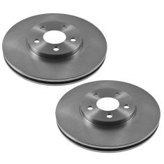 Front Disc Brake Rotor (AUTO EXTRA AX53000) PAIR