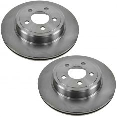 Rear Disc Brake Rotor (AUTO EXTRA AX53024) PAIR