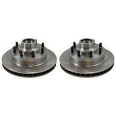 Front Disc Brake Rotor (AUTO EXTRA AX5374) PAIR