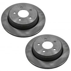 Rear Disc Brake Rotor (AUTO EXTRA AX54105) PAIR