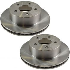 Front Disc Brake Rotor (AUTO EXTRA AX5396) PAIR