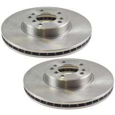 00-01 BMW X5; 02-06 X5 3.0L 4.4L Front Disc Brake Rotor PAIR