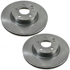 03 Mercedes Benz E320; 03-06 E500 2WD; 06 E350 2WD Front Disc Brake Rotor PAIR