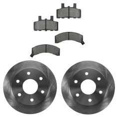 88-00 Chevy GMC Truck Front Brake Rotor & Pad Set
