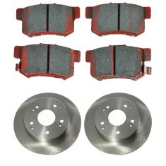 Disc Brake Rear Rotor & Pad Set (AUTO EXTRA AX31245, AXCD537)