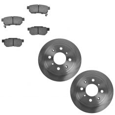 Rear Disc Brake Rotor & Pad Set  AX3258, AXCD374