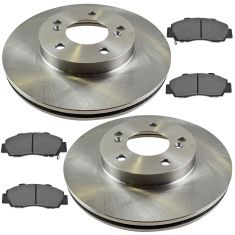 Front Disc Brake Rotor & Pad Set  AX3296, AXCD503