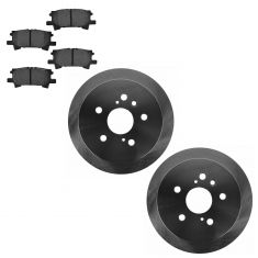 Rear Disc Brake Rotor & Pad Set AX31356, AXMD996