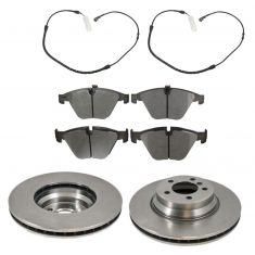 Front Disc Brake Rotor & Pad Set  AX34250, AXMD918