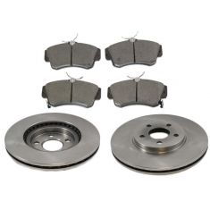 Front Disc Brake Rotor & Pad Set AX53000,  AXCD841
