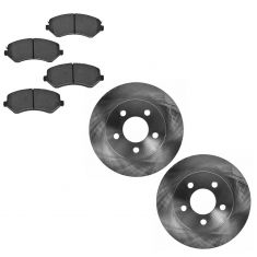 Front Disc Brake Rotor & Pad Set AX53001, AXCD856