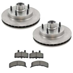 Front Disc Brake Rotor & Pad Set  AX5357, AXMD369