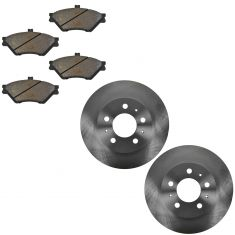 Front Disc Brake Rotor & Pad Set AX54014, AXMD678