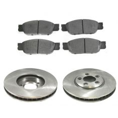 Front Disc Brake Rotor & Pad Set  AX54088, AXMD805