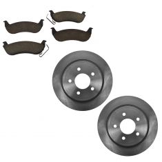 Rear Disc Brake Rotor & Pad Set AX54105, AXCD932