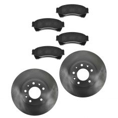 Front Disc Brake Rotor & Pad Set AX54142, AXCD1164