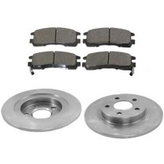Rear Disc Brake Rotor & Pad Set  AX55051, AXCD714