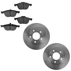 04-06 Mazda 3 2.0L Front Brake Rotor & Ceramic Pad Set