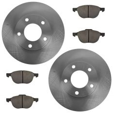 04-06 Mazda 3 2.0L Front Brake Rotor & Semi-metallic Pad Set