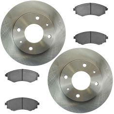 Semi-Metallic Disc Brake Pads& Rotor Set AXMD700, AX31320