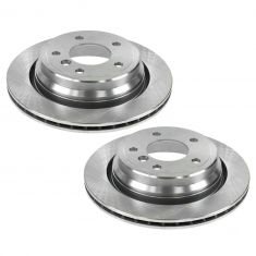 Rear Disc Brake Rotor (34162) Pair