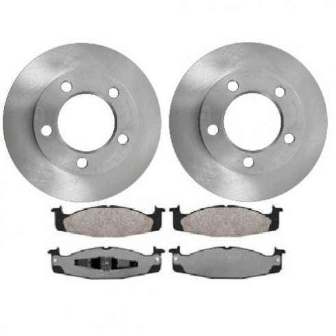 Large on 1996 Ford F 150 Front Rotor