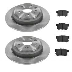 Rear Ceramic Disc Brake Pads & Rotor Set AXCD1086, AX900898