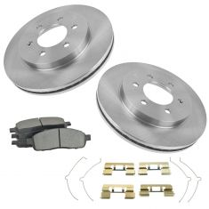 06-08 Ford F150; 06-08 Lincoln Mark LT 4WD 6 Lug Premium Posi Semi  Metallic Pads & Rotor Set