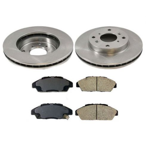 2001 honda accord brake pads rotors replacement 2001