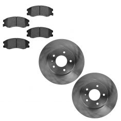 07-09 Equinox, Torrent; 08-09 Vue; 07-09 XL-7 Front Disc Brake Rotors & Metallic Pad Set