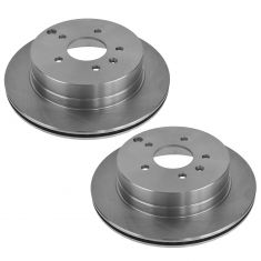 07-09 Equinox, Torrent; 08-09 Vue; 07-09 XL-7; 09-11 Gr Vitara Rr Dsc Brake Rotor Pair