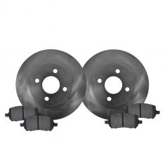 05-10 Cobalt; 07-10 G5; 03-07 Ion; 05-06 Pursuit (4 Lug) Front Metallic Pads & Rotors