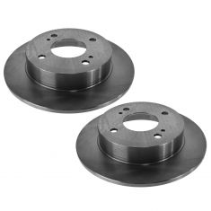 91-96, 99-02 G20; 93-01 Altima; 00-06 Sentra; Rear Disc Brake Rotor Pair