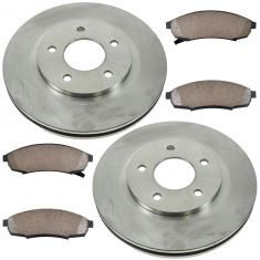 95-96 Regal, Grand Prix; 95-01 Lumina; 95-99 Monte Carlo; 95-97 Cutlass Frt Ceramic Pad & Rotor Kit