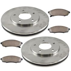 88-95 Regal, Cutlass Supreme, Gerand Prix; 90-95 Lumina; 95 Monte Carlo Fr Ceramic Pads & Rotors Kit