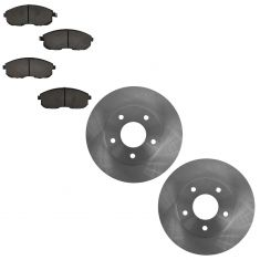07-08 Suzuki SX4 Front Ceramic Brake Pads & Rotors Set