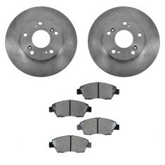 06-11 Honda Civic Hybrid Front Metallic Pads & Rotors Set