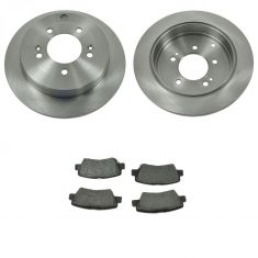 07-09 Kia Amanti Rear Metallic Pads & Rotors Set