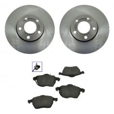 Brake Pads (Male Oval Sensor Connector) & Rotor Kit CERAMIC