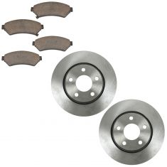 05-08 Lacrosse; 05-08 Grand Prix; 05 SV6, Relay, Uplander Fr Ceramic Pands & Rotors Set