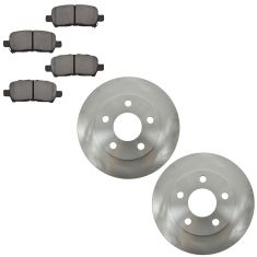 04-08 Grand Prix (ex GXP); 05-09 Lacrosse; 05-08 Alluere (ex Super) rear Metallic Pads & Rotors Set